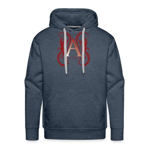 AUFC Logo red - Men's Premium Hoodie