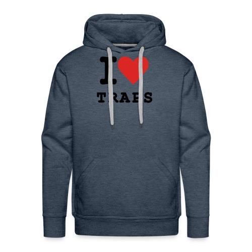 I Love Traps - Men's Premium Hoodie