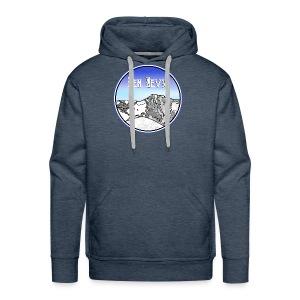 Ben Nevis Mountain - Men's Premium Hoodie
