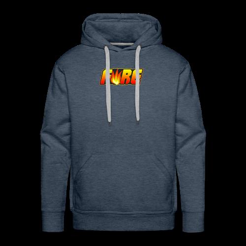 FyRe Logo - Men's Premium Hoodie