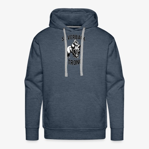 Basic Silverback Strong - Men's Premium Hoodie