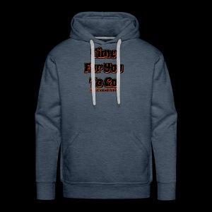 Time 4U 2 Go - Black Series - Men's Premium Hoodie