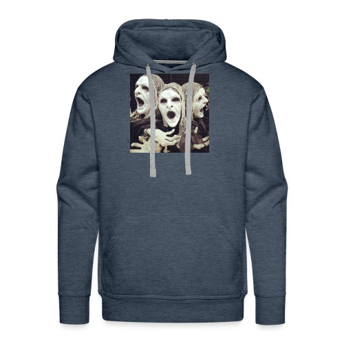 The three scary ghost... - Men's Premium Hoodie