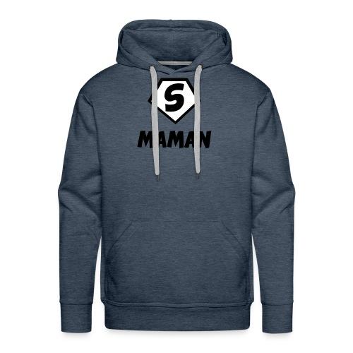 Super maman - Molleton à capuche Premium pour homme