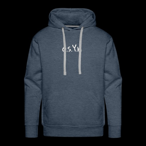 Old soul young heart - Men's Premium Hoodie