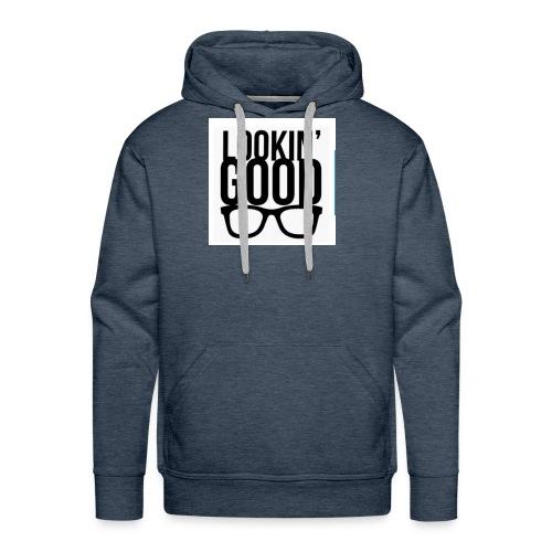 Looking good t shirt unisex design - Men's Premium Hoodie