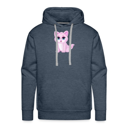 Cute Kitty Cat - Men's Premium Hoodie