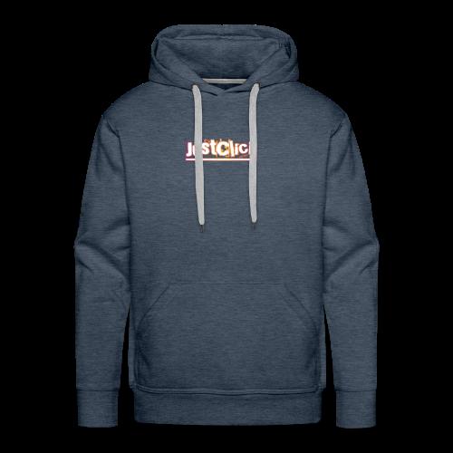 Just click - Men's Premium Hoodie
