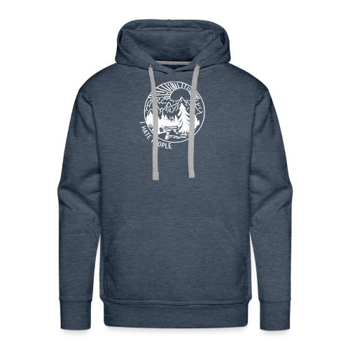hate people - Men's Premium Hoodie