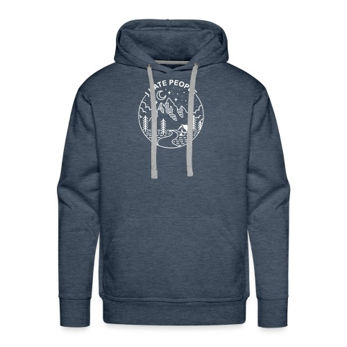 hate people merch - Men's Premium Hoodie