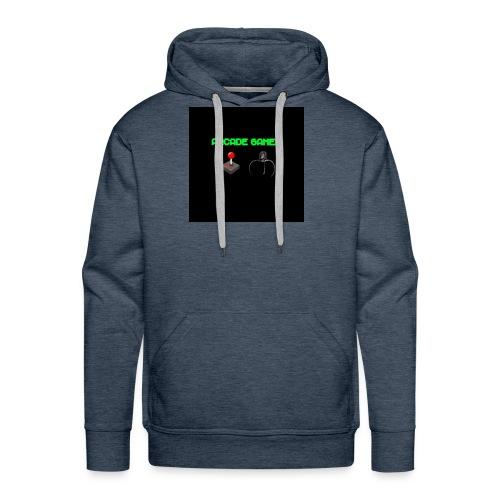 ARCADE GAMER T-SHIRT - Men's Premium Hoodie