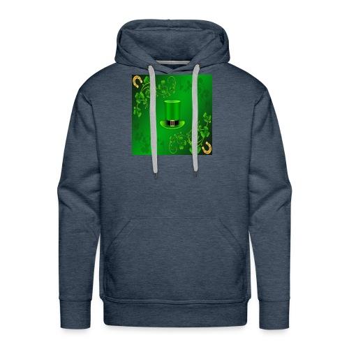leprechaun shirt - Men's Premium Hoodie