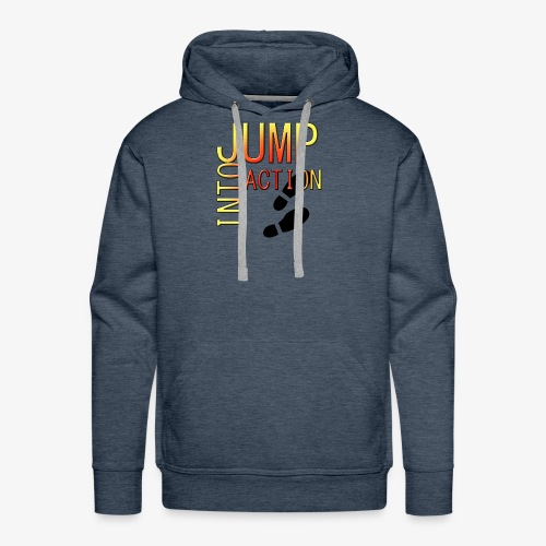 Jump into action - Men's Premium Hoodie