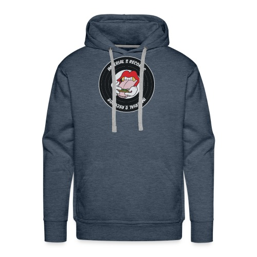 Imperial S Records logo - Men's Premium Hoodie