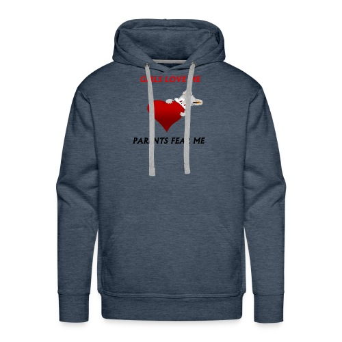girls love me - Men's Premium Hoodie