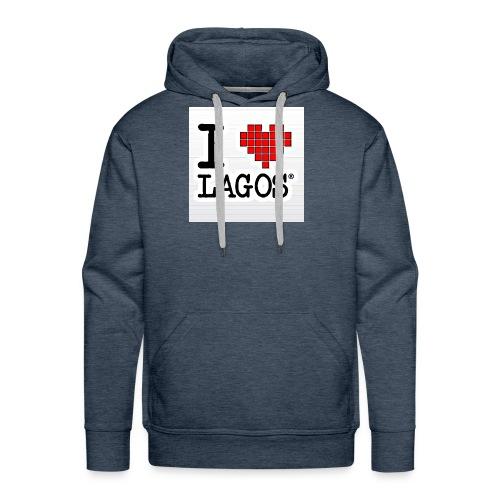 I LOVE LAGOS - Men's Premium Hoodie
