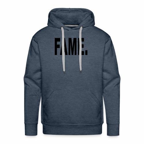 Fame Schwarz - Men's Premium Hoodie
