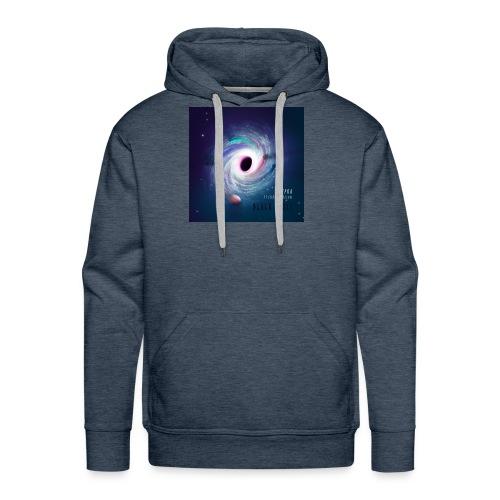 Black Hole Cover Art Design - Men's Premium Hoodie