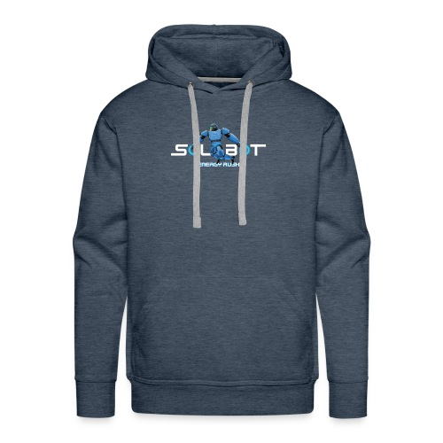 Solbot White Text - Men's Premium Hoodie