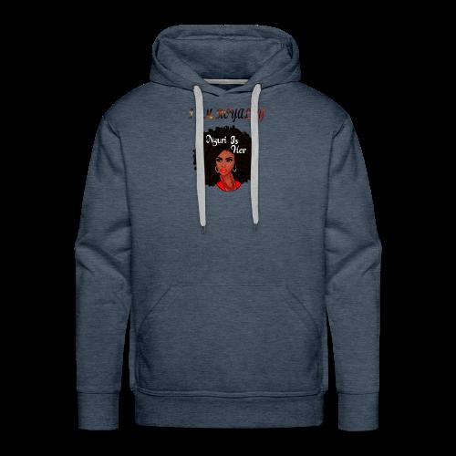 i am royalty design - Men's Premium Hoodie