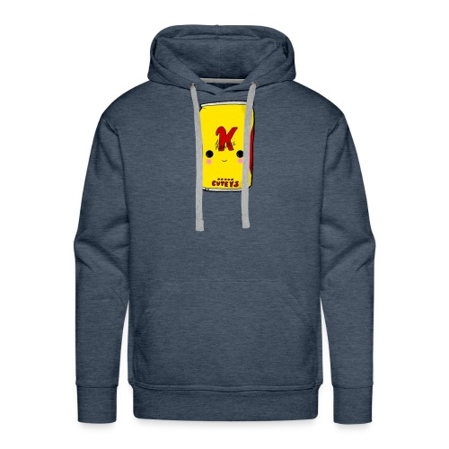 Kawaii Cute Tennants Lager Can - Men's Premium Hoodie