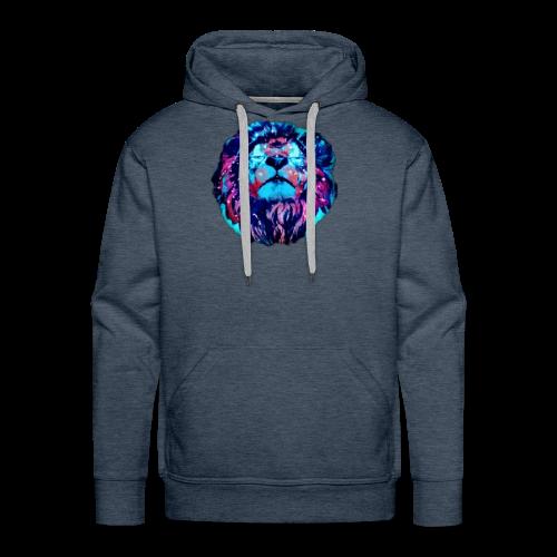 Galaxy Lion - Men's Premium Hoodie