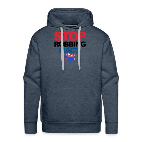 Stop Robbing Mac's Unofficial Initiative (Colour) - Men's Premium Hoodie