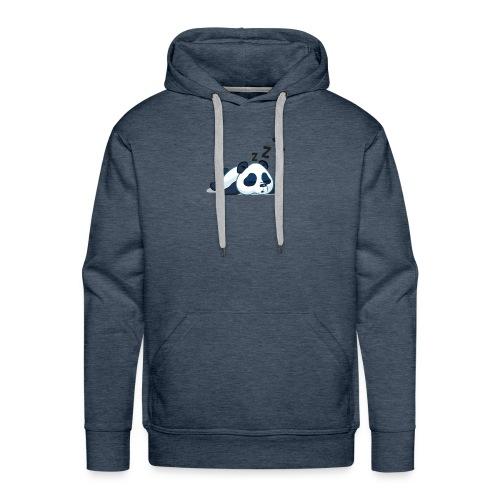 Funny sleeping panda - Men's Premium Hoodie