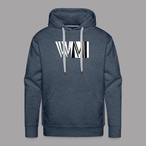 WALLSMAFIAwhite - Men's Premium Hoodie