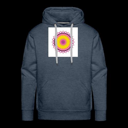 Lotus Flower Mandala - Men's Premium Hoodie