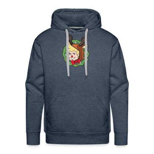 Utopiaboy Christmas Wreath - Men's Premium Hoodie