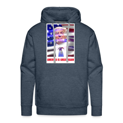 AMERICA IS GREAT AGAIN - Men's Premium Hoodie