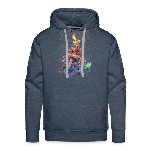Answer to the Question Dragons - Men's Premium Hoodie