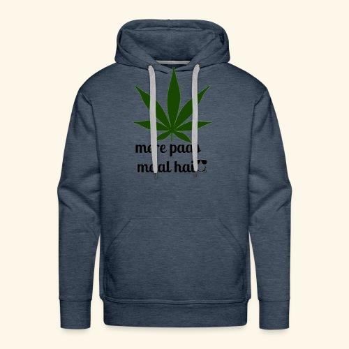 MERE PAAS MAAL HAI GREEN STUFF - Men's Premium Hoodie