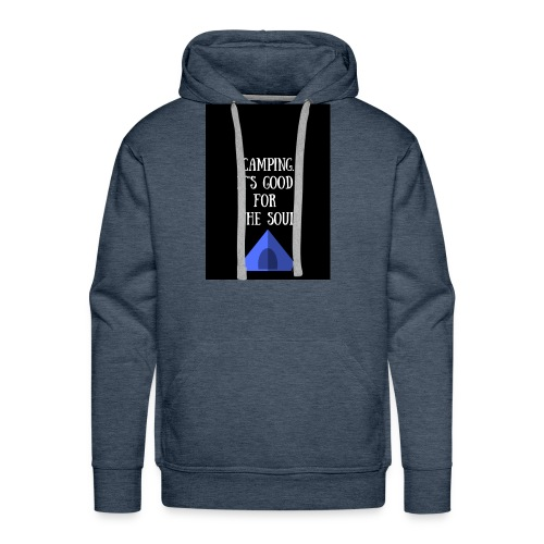 Camping it's good for the soul. - Men's Premium Hoodie