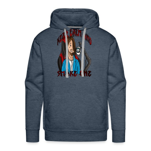 Psycoxsamm -Keep Calm and smoke one - Men's Premium Hoodie