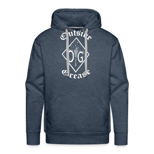 Outside Grease Logo - Men's Premium Hoodie