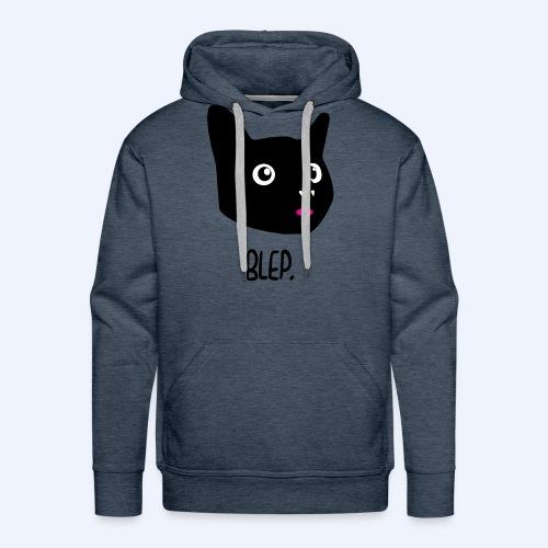 Cat Blep T-shirt - Men's Premium Hoodie