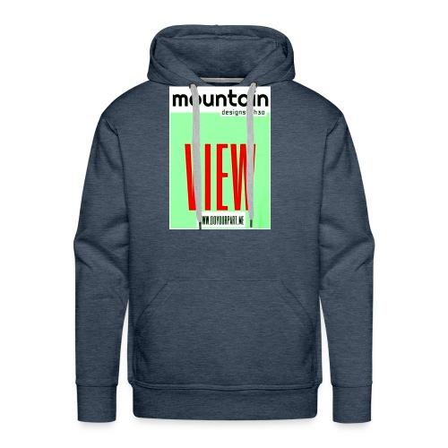 mountain2 - Men's Premium Hoodie