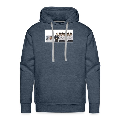A new take on car sales man meme - Men's Premium Hoodie