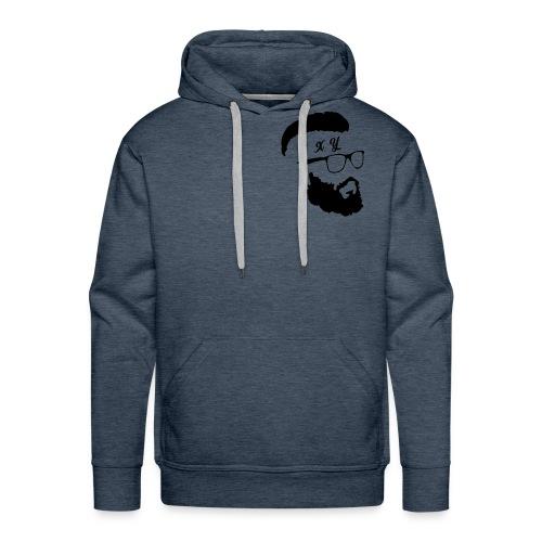 Hipster exy - Men's Premium Hoodie
