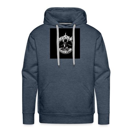 darkcharge button - Men's Premium Hoodie