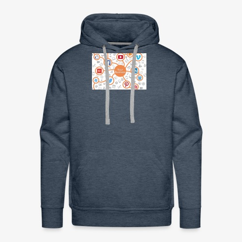 social media marketing - Men's Premium Hoodie
