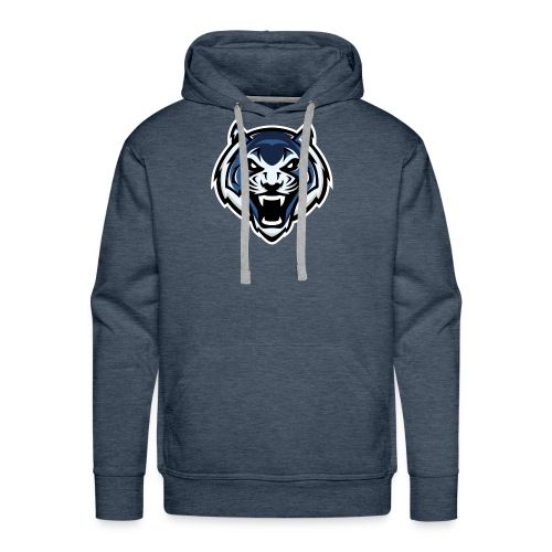 The Furious Blue - Men's Premium Hoodie