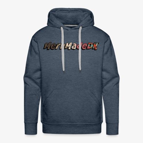 Original MerkMadeDK Logo - Men's Premium Hoodie