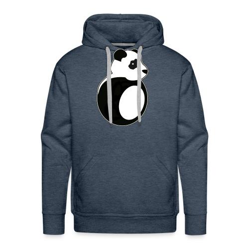 Tan Panda - Men's Premium Hoodie