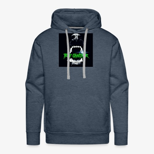 True Gangster Dog Eat Dog T-Shirt - Men's Premium Hoodie