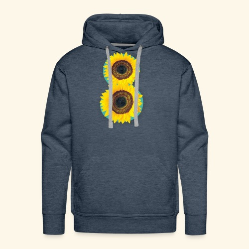 8 Exabytes Sunflower by GVD - Men's Premium Hoodie