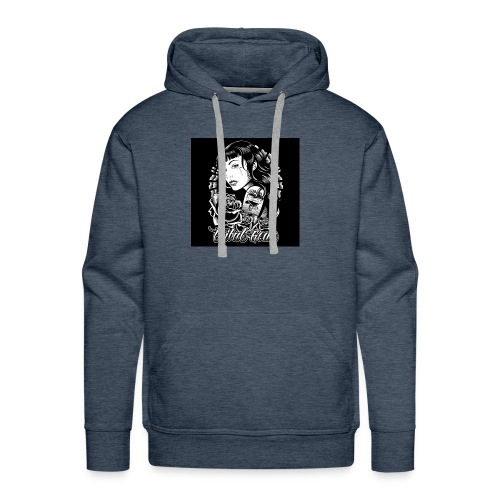 tribal amor t shirt black03 2197 - Men's Premium Hoodie