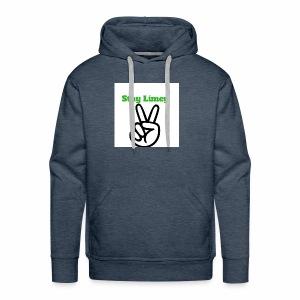 Peace Brand White - Men's Premium Hoodie